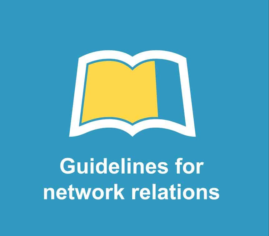 Guidelines for network relations image